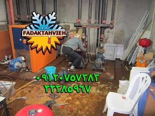 تعمیر موتورخانه