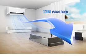 پرتاب باد کولر گازی