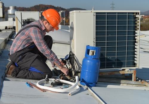 جمع کردن گاز کولر گازی